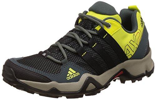Adidas Men's Ax2 Utiivy, Cblack, Shosli and Utii Trekking and Hiking Boots - 7 UK/India (40.67 EU)