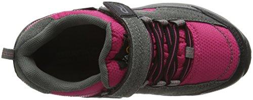 Regatta Trailspace 2, Chaussures de Randonnée Basses Fille Pink (Jem/CHARCOAL 1Ck)