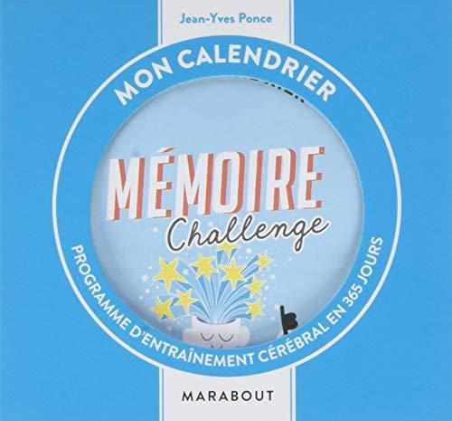 Ephéméride 2019 : mon calendrier mémoire challenge par Jean-Yves PONCE