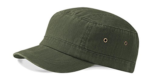 Beechfield Urban Army Cap in Vintage olive one size,Vintage Olive