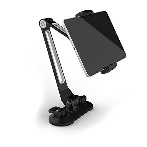 Sinland universelle Handy-, Tablet-Halterung / Desktop-Ständer mit Saugnapf, Multi-Winkel kompatibel mit fast allen Geräten