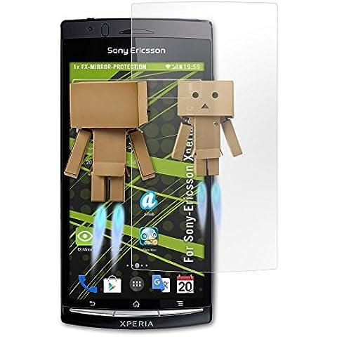 atFoliX Protettore Schermo Sony-Ericsson Xperia arc Pellicola a specchio -