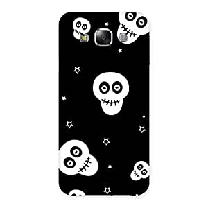 Skull Star Back Case Cover for Samsung Galaxy E5
