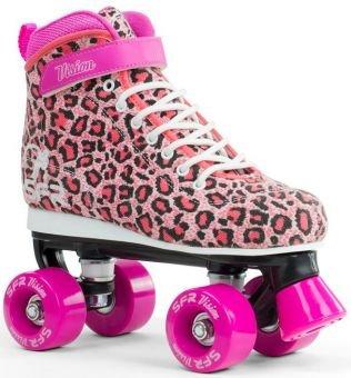 SFR Vision Canvas Rollschuhe Disco Roller Kinder rosa