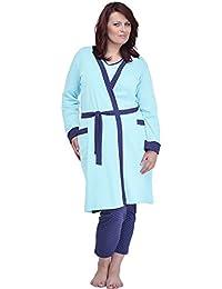 Merry Style Batas Tallas Grandes Plus Size Ropa de Cama Interior Lencería Mujer 484