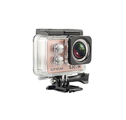 Galleria fotografica SJCAM SJ 7STAR RGD 4K NATIV Action Camera  (16MP, Touchscreen, Sony Sensor, WLAN, HDMI, Impermeabile), Oro rosa
