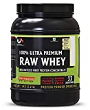 Advance MuscleMass Raw Whey Protein Supplement Powder with Digestive Enzymes 1 Kg /