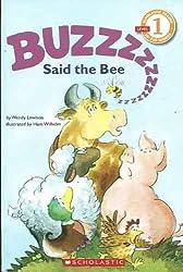 Buzz Said the Bee (Cartwheel Books)