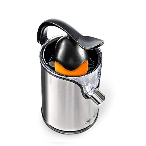 Volsteel Zitruspresse Elektrisch, 2018 Neueste Version Pro Entsafter, mit Extra Saft System, BPA frei, und Edelstahl, für Zitrus, Orange, Zitrone und saftige Frucht | CS201