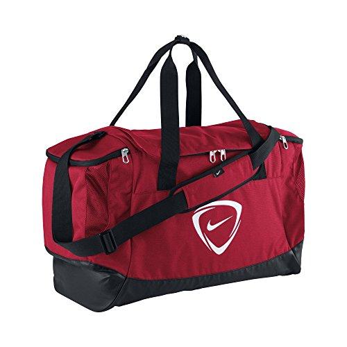 Nike Unisex Sporttasche Club Team, rot/schwarz/weiß, 53 x 37 x 37 cm, 52 Liter, 0883212061980