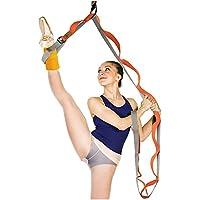 ynxing pierna estiramiento correa puerta flexibilidad Trainer Ballet elástico banda puede aumenta la pierna/cadera flexibilidad puede utilizarse para ballet/Yoga/Fitness
