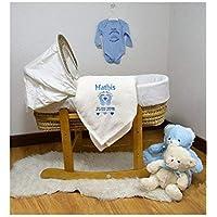 Cadeau Naissance Souvenir de naissance Couverture Plaid polaire très doux et confortable à personnaliser