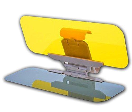 Fahrvisier, Knopf Dehnen, Große Größe Sonnenbrille Sun Shade Tag & Nacht Blend