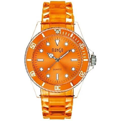 Mango vigilanza del silicone Tutti Frutti Arancione A75101OR7P [clock]