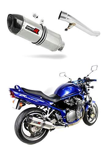 GSF 600 Bandit Pot d'échappement HP1 Carbon Silencieux Dominator Exhaust Racing Slip-on 2000 2001 2002 2003 2004