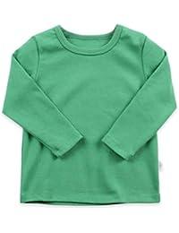 CuteOn niños Chicos Chicas Manga Larga Camiseta de Algodón T-Shirt (Tamaño 2-6 Edad) Variedad de Colores