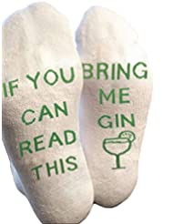 Himozoo If You Can Read This Bring Me Beer Whisky Socks Luxury Cotton Novelty Socks - Perfect Gag Gift or Funny Birthday Present Idea