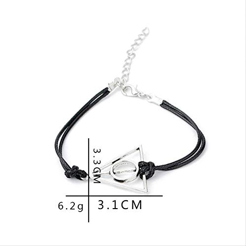 Mode Salbei (GTMECJ Salbei Armband Mode Vintage Dreieck Weben Damen Armband)