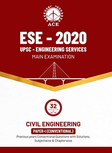 ESE 2020 Mains Civil Engineering Conventional Paper I Previous Conventional Questions with Solutions, Subject wise and Chapter wise