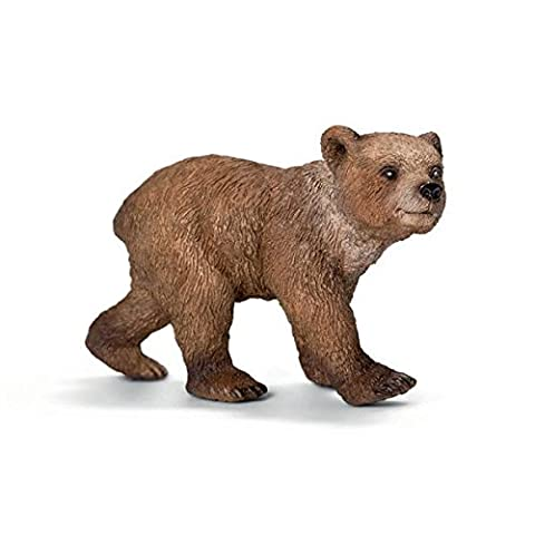 Schleich Grizzly Bear Cub Figurine