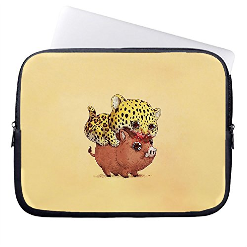 chadme-laptop-sleeve-borsa-brutale-cuccioli-su-giallo-notebook-sleeve-casi-con-cerniera-per-macbook-