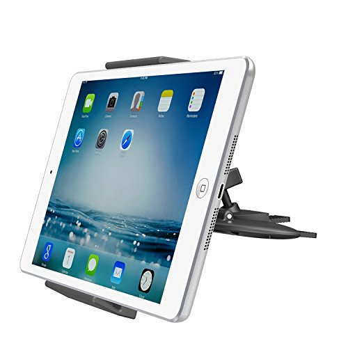 supporto tablet auto cruscotto Supporto Universale per Lettore CD Auto per tablet APPS2Car Supporto per iPad 4 3 2 iPad Air iPad Mini 4 3 2 Samsung Galaxy Tab S E A Sony Xperia Tablet Z4 3 2 Google Nexus ASUS ZenPad LG Nokia N1 - iPhone 7 6 Plus Note 4 S8 GPS