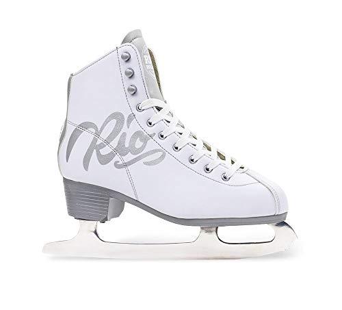 Rio Roller Schlittschuhe Moonlight Ice Skates White (39.5)