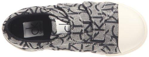 Calvin Klein Dale, Unisex - Kinder Sneaker Grau - Granit