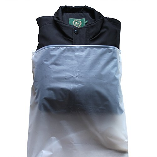 5x Durchscheinend Wasserdichte Reise Tasche Organizer Tasche für Kleidung, Schuhe, Toilettenartikel, Persönlichen Dingen grau grau XX-Large