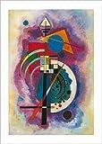 Poster 50x 70cm Hommage an Grohmann/A Tribute to Grohmann/Ehrung für Grohmann Wassily Kandinsky (1866–1944)