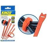 Kinzo - 46609–Kit jauge-Système fermeture Par boucle attache - 6 pièces