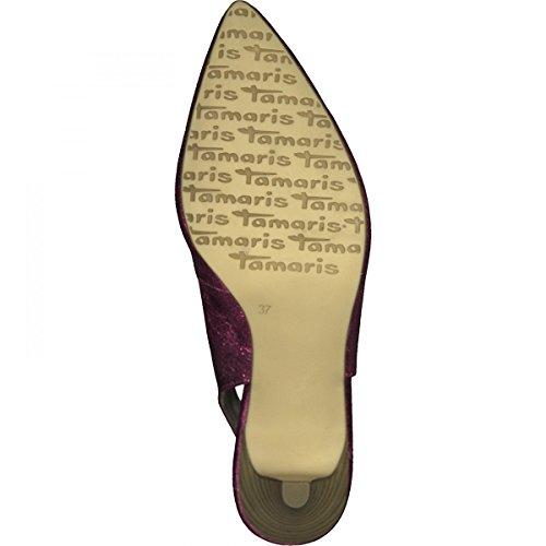 Tamaris 29601, Sandali con Cinturino Alla Caviglia Donna Pink