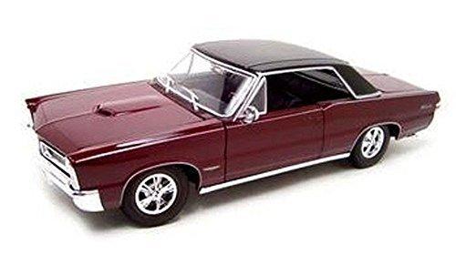 1965-pontiac-gto-hurst-edition-burgundy-maisto-31885-1-18-scale-diecast-model-toy-car-by-maisto