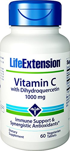 Vitamin C with Dihydroquercetin 1000 mg 60 vegetarian tablets (Life Extensions Vitamin C)