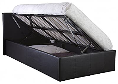 The Side Lift Ottoman Storage Bed produced by GFW - The Furniture Warehouse - quick delivery from UK.