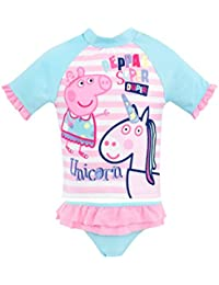 Peppa Pig Girls Peppa & Unicorn Swim Set Ages 12 Months to 8 Years