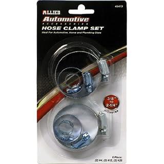 Allied Tools 6 PC. Hose Clamp Set