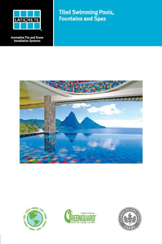 Tiled Swimming Pools, Fountains, and Spas Technical Design Manual (English Edition) - Pool Spa Design