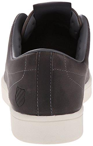 K-Swiss Washburn P Cuir Baskets Charcoal-Bone