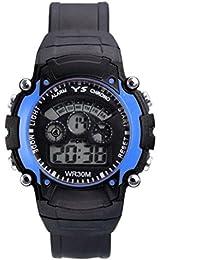DK Enterprise Casual Digital Blue Dial Boys Watch - DK -3801