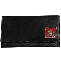 NHL Ottawa Senators Genuine Leather Women's Wallet
