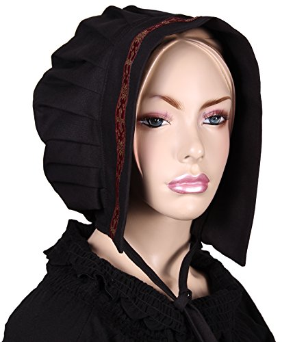 t Bordüre - schwarz - BW (Tudor Kostüm Bilder)