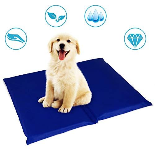 Mr. Fragile Kühlmatte für Haustiere,Wärmebehandlungsmatte Hundekühlunterlage Pad für Katzen und Hunde Kühl halten Sommer-Schlafsofa,40 * 50cm -