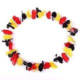 Schramm® 100er Pack Blumenkette Deutschland Blumenketten Hawaiikette Hawaiiketten Hawaii Kette Blume Bumen Halskette Halsketten Deko