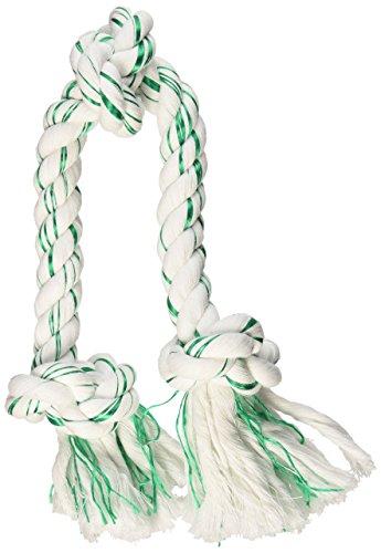 Booda Fresh n Floss 3Knoten Tug Seil Hundespielzeug (Booda Kauen Spielzeug)