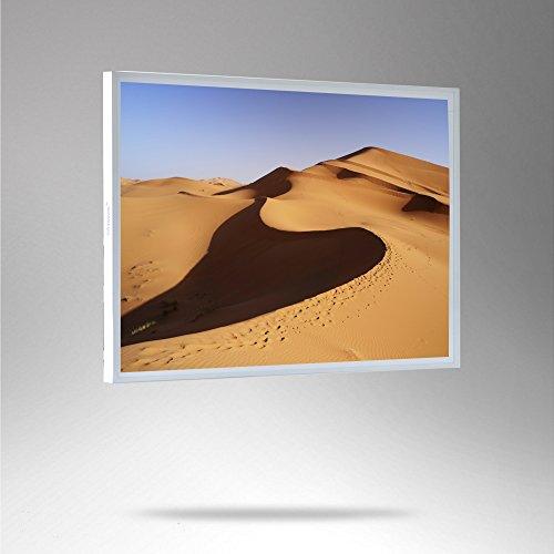 ColdFighting Geringer Rabatt 1000*1200mm 1200W Weiß Rahmen/PET und Bild Fernes Infrarot -Panel Elektrische Heizung Wand - Fern-panel