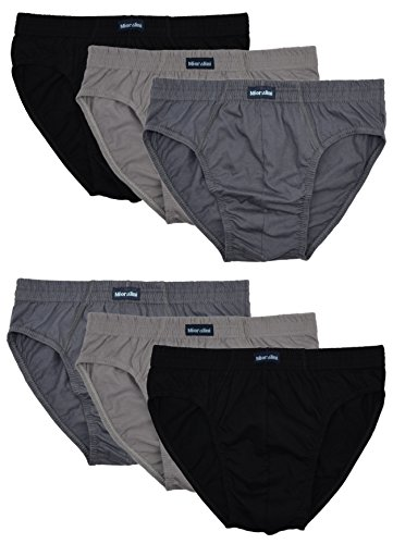 6 Slips Homme Sport sans Intervention, l'article: 6 pièces Set04, Taille: 2XL-8