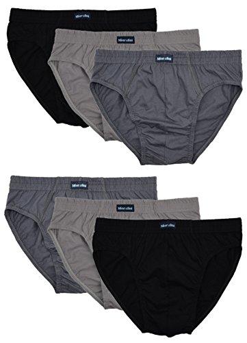 MioRalini 6 Herren Sport Slip ohne Eingriff, Artikel: 6 Stück Set04, Grösse: 3XL-9 (Jungen Unterwäsche Größe 6)