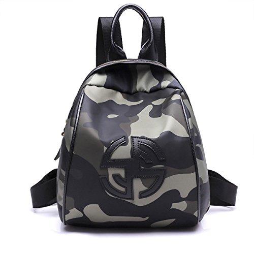 Junge Mädchen Mode Tarn Rucksack Für Studenten Täglichen Gebrauch Und Outdoor-Aktivitäten Paket,A C