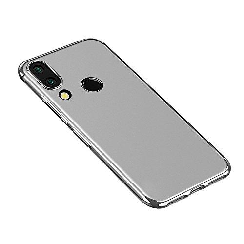 Momoxi Phone Accessory Huawei Handyhülle Handy-Zubehör Stylischer Hybrid TPU Plating Case aus Silikon für Huawei P20 Lite lite hülle